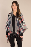 Simply Noelle Thick Plaid Hooded Wrap