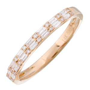 2 Baguette Stacking Ring - Euro Time & Jewels