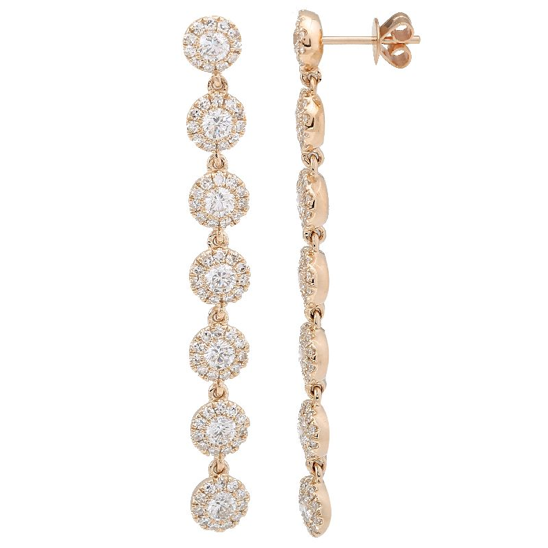 Diamond Drop Earring - Euro Time & Jewels
