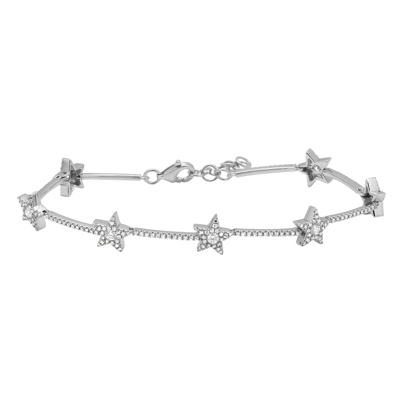 Mini Star Diamond Bracelet - Euro Time & Jewels