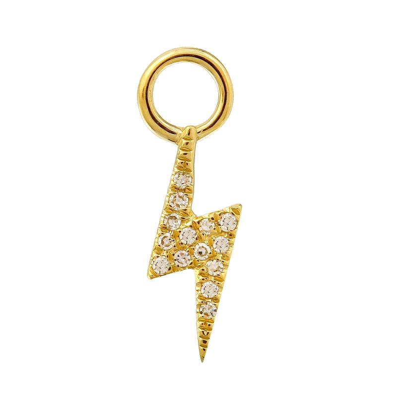 Lightning Bold Earring Charm / Sold as Pair - Euro Time & Jewels