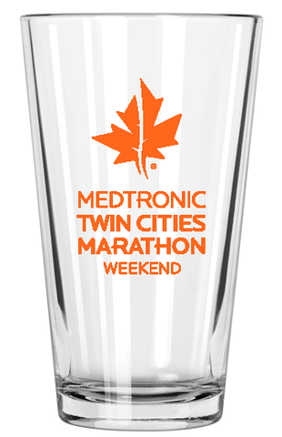 2019 Marathon Weekend Pint Glass