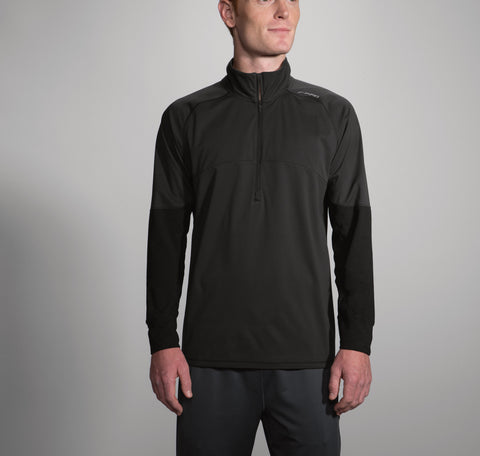 2017 Brook's Men's Drift 1/2 Zip - Black
