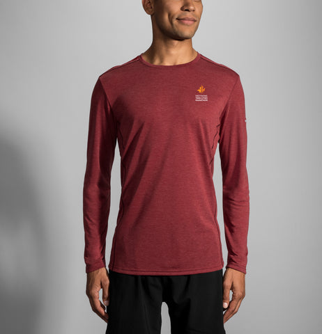2019 Brooks TCM Distance Long Sleeve - Jasper