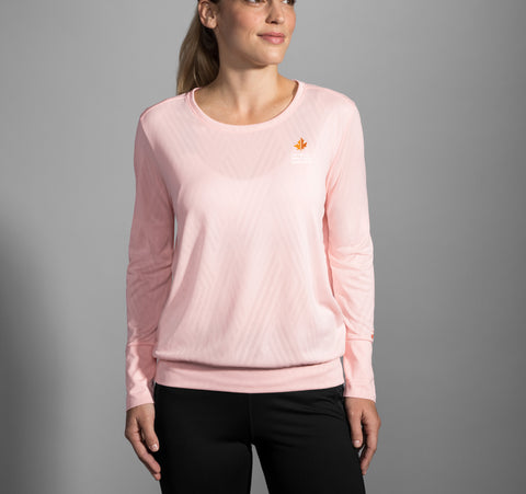 2019 Brooks TCM Array Long Sleeve - Quartz (Women's Sizing)