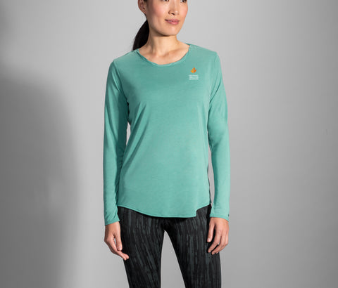 2019 Brooks TCM Distance Long Sleeve - Teal (Women's Sizing)