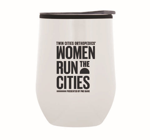 Women Run the Cities 12 Ounce Tumbler