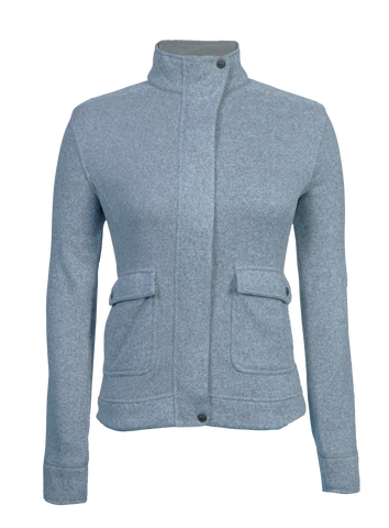 2017 StormCreek Women's Snap Placket Swearterfleece Jacket Frost