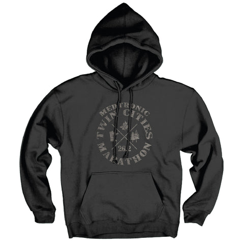 2017 Lakeshirts Black Fleece Hoodie