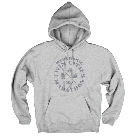 2017 Lakeshirts Heather Fleece Hoodie