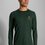 2018 Brooks TCM Ghost LS Heather Spruce (Men's)
