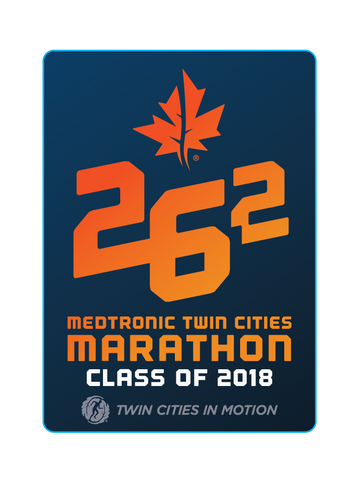 Class of 2018 Marathon Sticker