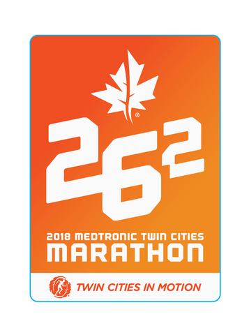 2018 Marathon Sticker