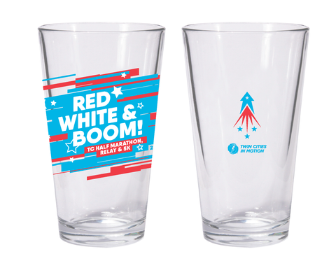 Red, White & Boom! Pint Glass