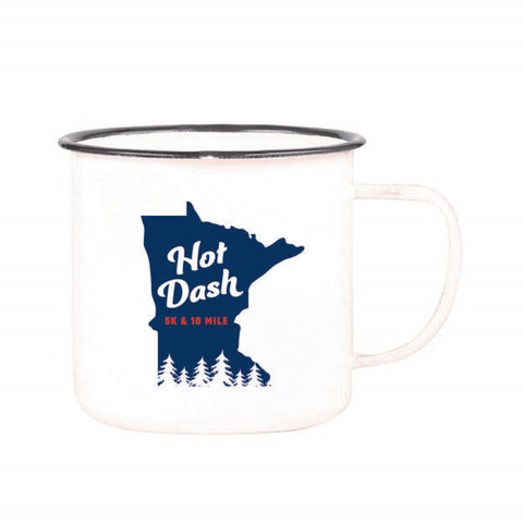 2020 Hot Dash Enamel Camper Mug