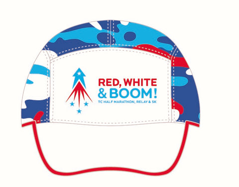 Red, White & Boom! Run Hat