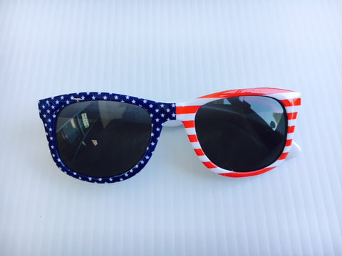 Red, White &  Boom! Americana Sunglasses