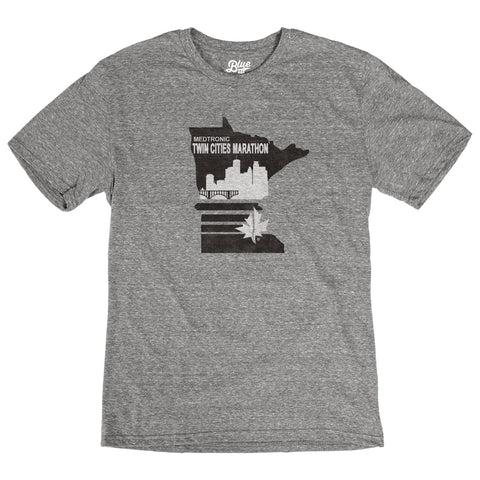 Short Sleeve Tri Blend Tee - Heather