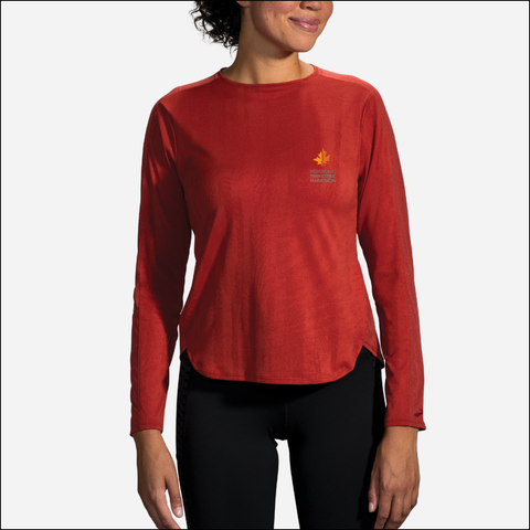 2020 Brooks TCM Spirit Long Sleeve - Rosewood Jacquard (Women's Sizing)