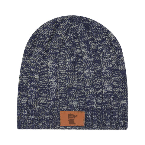 2020 Hot Dash Navy Knit Beanie