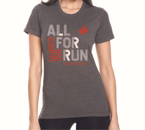 All For Run Women's Tee
