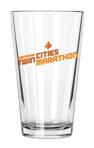 2018 Marathon Pint Glass