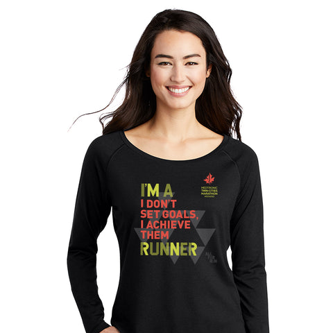 I'm a Runner Women's Long Sleeve Tee