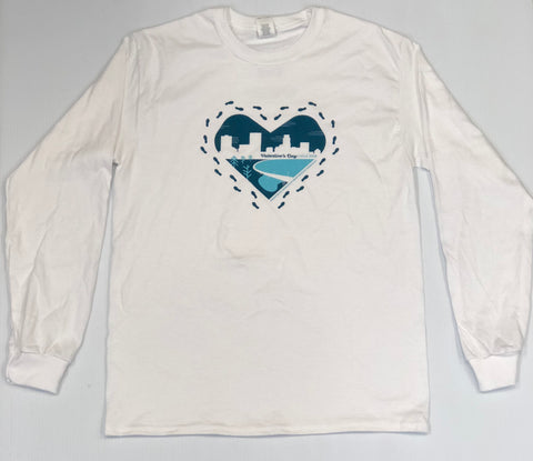 2018 Valentine's Day Walk Long Sleeve Shirt