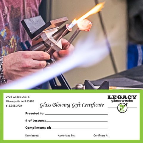 Gift Certificates now available!