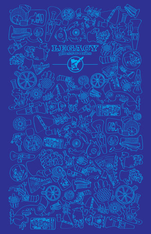 Legacy Glassworks Artists 2-Year Anninversary Poster