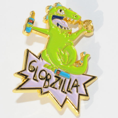 Globzilla Hat Pin