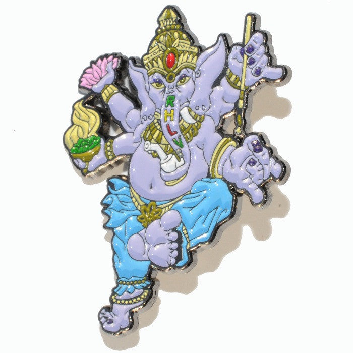 Greatful Ganesha Hat Pin