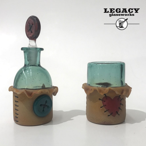 Peter Muller ISO Jar/Qtip Jar Set