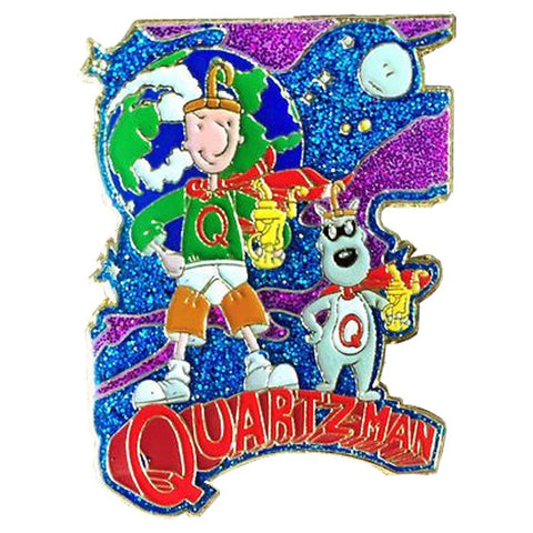 Quartz Man Hat Pin