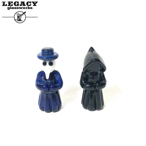 Tristan Lund Plague Doctor and Hooded Figure Pendant