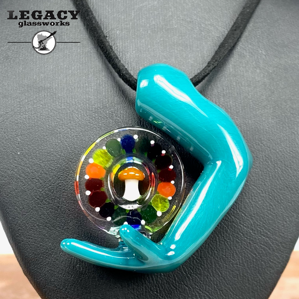 Grasping The Vibe GPS Pendant