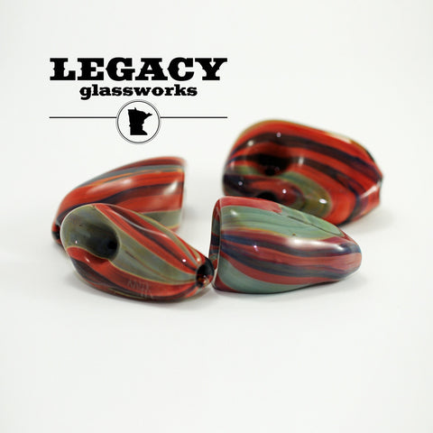 AAA x Kinnickinnic Agate Pipes