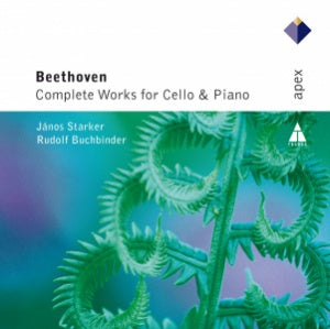 BEETHOVEN, LUDWIG VAN: COMPLETE WORKS FOR CELLO & PIANO - STARKER, BUCHBINDER (2 CDs)