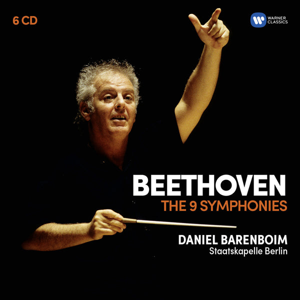 Beethoven: The 9 Symphonies (6CD) - Daniel Barenboim
