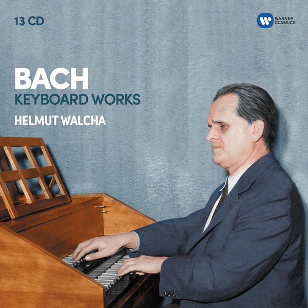 Bach: Keyboard Works (13CD) - Helmut Walcha