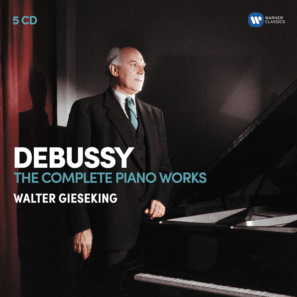 Debussy: The Complete Piano works (5CD) - Walter Gieseking