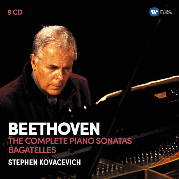 Beethoven: The 32 Piano Sonatas, Bagatelles (9CD) - Stephen Kovacevich