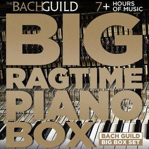 Big Ragtime Piano Box (7 HR Digital Boxed Set)