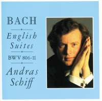 BACH: ENGLISH SUITES, BWV 806-811 - ANDRAS SCHIFF