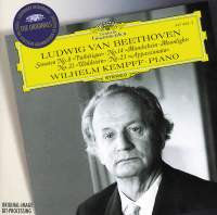 "Beethoven: Sonatas - ""Moonlight"", ""Pathetique"", ""Waldstein"", ""Appassionata"" - Wilhelm Kempff"
