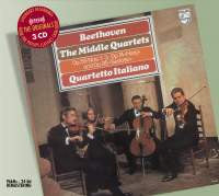 Beethoven: The Middle String Quartets - Quartetto Italiano (3 CDs)