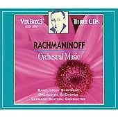 Rachmaninov: Orchestral Music - Slatkin, St. Louis Symphony Orchestra (3 CDs)