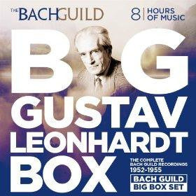 Big Gustav Leonhardt Box (The Complete Bach Guild Recordings 1952-1955)