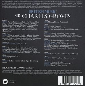 BRITISH MUSIC - SIR CHARLES GROVES