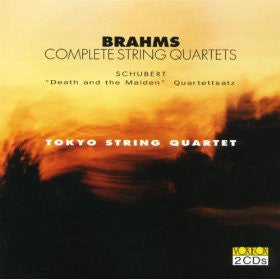 "Brahms: Complete String Quartets; Schubert: Quartet No. 14 ""Death and the Maiden"", Quartettsatz - Toyko String Quartet (2 CDs)"